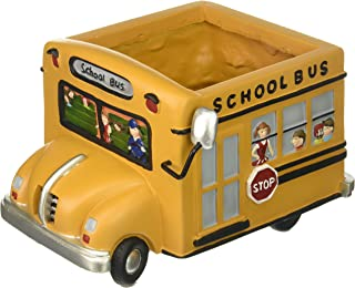 Adorable School Bus Planter Great Gift for Teachers, School Bus Drivers,Home Decor