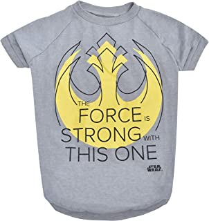 """Sponsored Ad - Star Wars for Pets """"The force Is Strong With This One"""" Dog Tee 