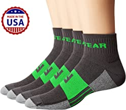 MudGear Trail Running Socks for Men and Women, Made in USA - 2 Pair Pack