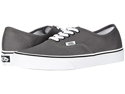 Vans Authentictm Core Classics (Black/Pewter) Skate Shoes