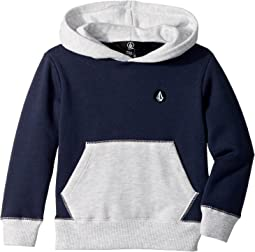 Volcom Kids - Single Stone Division Pullover Hoodie (Toddler/Little Kids)
