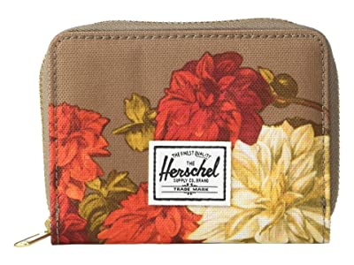Herschel Supply Co. Tyler RFID (Vintage Floral Pine Bark) Wallet Handbags
