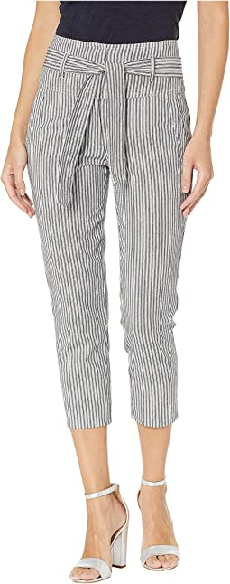 Trouser Woven Cropped Pants