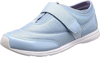 [ムーンスター] スニーカー 運動靴 室内運動対応 軽量 抗菌防臭 大人の運動靴03 レディース サツクス 22.5 cm 2E