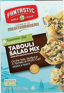 Fantastic World Foods Mix - Organic - Tabouli Salad - 4.8 oz - case of 6 - Flavor of the Mediterranean - Dairy Free -Vegan