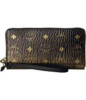 MCM - Gradation Visetos Zipped Wallet Large