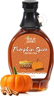 Sponsored Ad - Green Jay Gourmet Pumpkin Spice Syrup - Premium Breakfast Syrup with Pumpkin, Spices & Lemon Juice - All-Na...