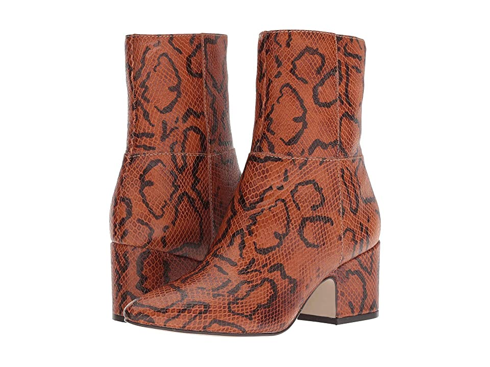 Matisse At Ease (Rust Snake Leather) Women