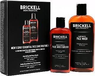 Brickell Men's Products – Rutina Esencial de Cuidado Facial Diario I - Gel Limpiador Facial y Loción Hidratante Facial - Natural y Orgánico