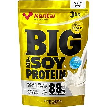Kentai ビッグ100%ソイプロテイン プレーンタイプ 3kg