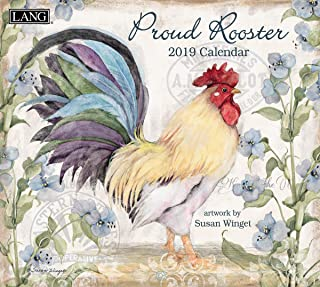 Lang Proud Rooster 2020 Wall Calendar (20991001936)