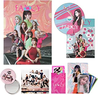 TWICE 7th Mini Album - FANCY YOU [ A ver. ] CD + Photobook + Lenticular Card + Photocards + Sticker + OFFICIAL PHOTOCARD SET + OFFICIAL POSTER + FREE GIFT