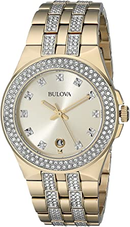 Bulova - Mens Crystal - 98B174
