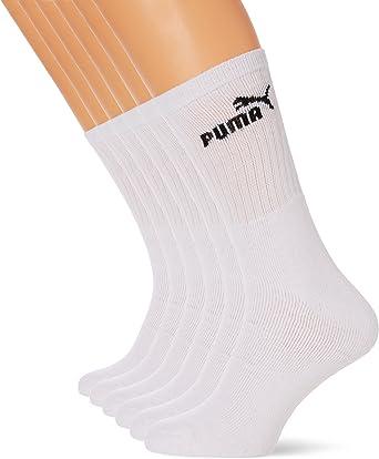 Puma - Chaussettes de Sport - Lot de 6 - Homme