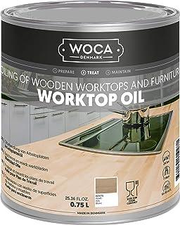 WOCA 527814AA Arbeitsplattenöl weiß 0,75 Liter