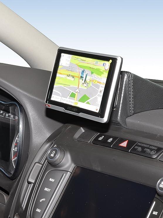Kuda 6590 Halterung Echtleder Schwarz Für Opel Zafira C Elektronik