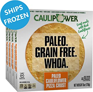 pre made paleo pizza crust
