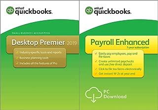 QuickBooks Desktop Premier 2019 [PC Disc] with Enhanced Payroll