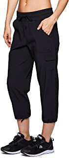 Active Women's Cargo Lightweight Woven Capri Pant