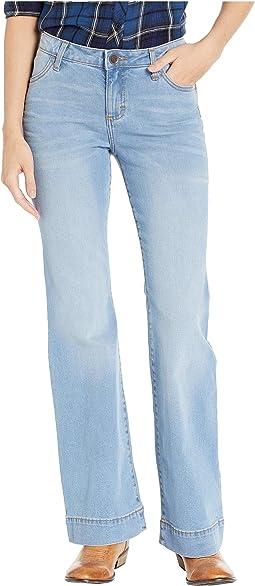 Retro Mae Mid-Rise Wide Leg Jeans
