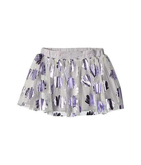 Stella McCartney Kids Honey Tulle Skirt w/ Metallic Seashells (Toddler/Little Kids/Big Kids)
