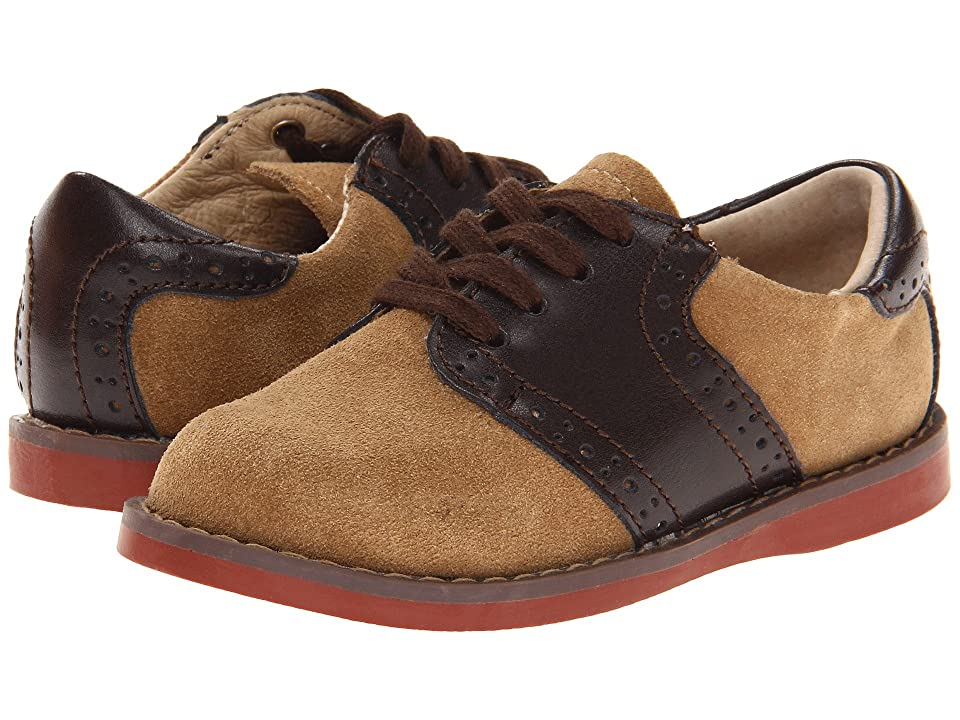 FootMates Connor 2 (Toddler/Little Kid) (Dirty Buck/Brown) Boys Shoes