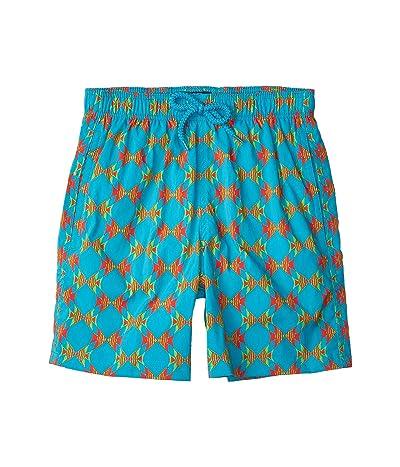 Vilebrequin Kids Jirise Fish In Love Superflex Swim Trunks (Toddler/Little Kids/Big Kids)