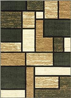 Princess Collection Geometric Swirl Abstract Area Rug, 5' 2