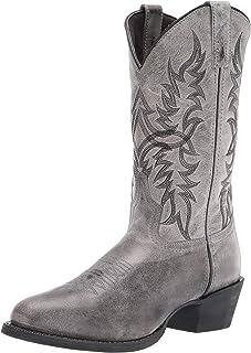 Amazon.com: Men's Western Boots - Grey