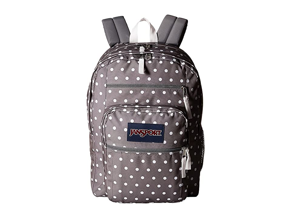 JanSport Big Student (Shady Grey/White Dots) Backpack Bags