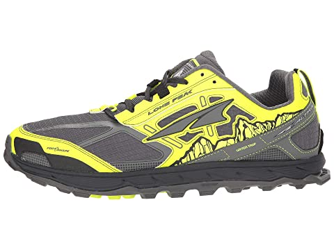 OrangeGray BlueGray Footwear Lone Altra Yellow Peak 4 OwXB0qU