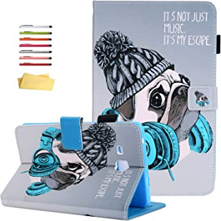 UUcovers Case for Samsung Galaxy Tab A 7.0 inch Tablet 2016 Model (SM-T280/T285) with Pencil Holder Card Slots, Slim PU Le...
