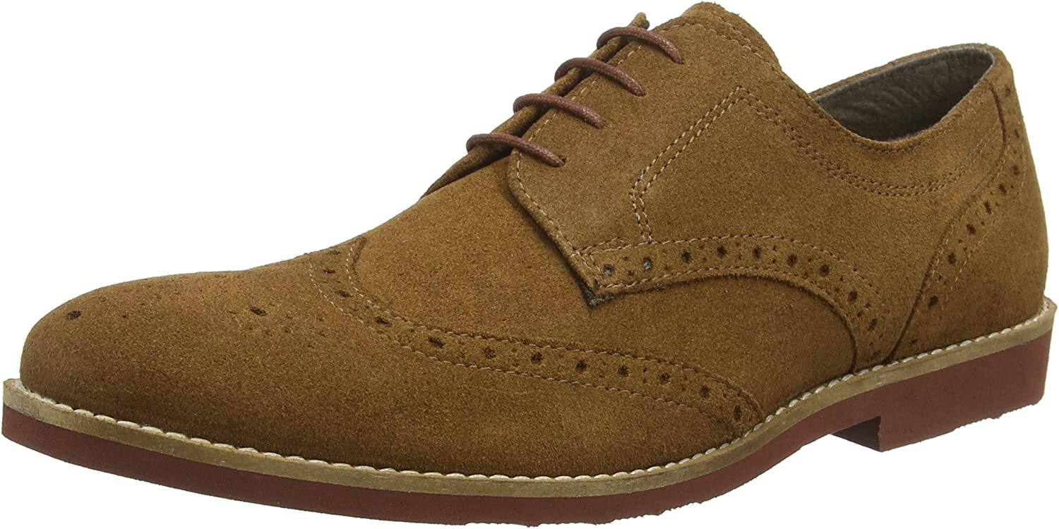 Red Tape Men's Brickhill Brown Suede New Casual shoes