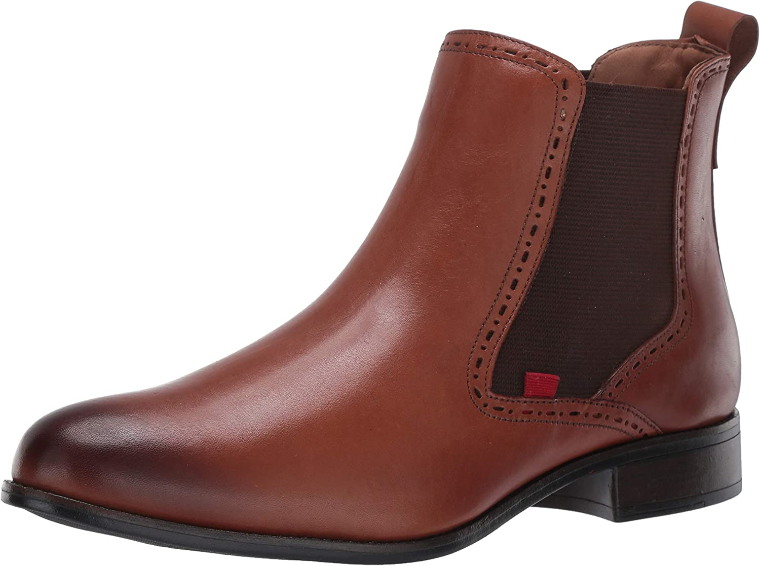 Marc Joseph New York Popularity Women's Perforate Leather Chelsea with Factory outlet Boot