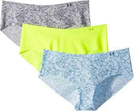 c5c7ec5ae Under Armour Pure Stretch Thong 3-Pack at Zappos.com