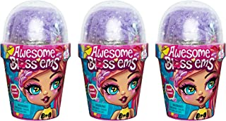 Awesome Blossems, 3 Pack of Magical Growing Flower-Themed Scented Collectible Dolls (Styles May Vary)