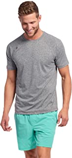 Rhone Reign Short Sleeve   Workout Shirts for Men with Anti-Odor, Moisture Wicking Technology