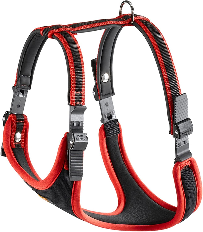 Ferplast Ergocomfort Dog Harness (Medium) (Red)