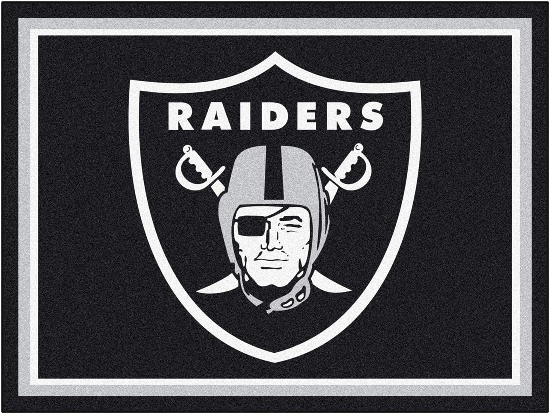 FANMATS 17493 NFL - Las Vegas Raiders 8ft. X Limited time sale 10ft. Area Plush Latest item Ru