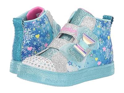 SKECHERS KIDS Twinkle Toes Shuffle Lite 314019N (Toddler/Little Kid) (Blue/Multi) Girl