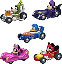 Fisher-Price Disney Mickey & the Roadster Racers, Hot Rod 5-Pack [Amazon Exclusive]