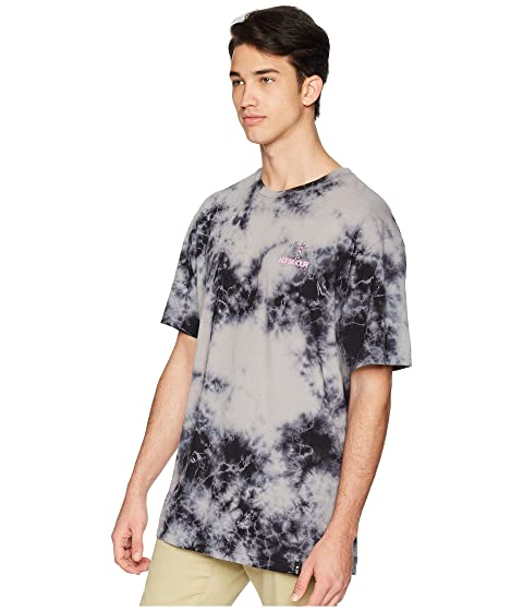 Exclusive Outlet Best Place HUF Owsley T-Shirt Black Crystal Wash HCXIgC