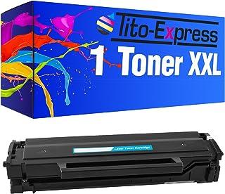 Tito-Express Platinum Serie 1x tóner XXL Black para Samsung MLT-D111S Xpress SL-M2000 SL-M2022 SL-M2026 M2020W M2021W M2022W M2026W M2070F M2070FW M2070W M2071FW M2071HW M2071W M2078F M2078W