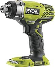 Ryobi Accu-slagschroevendraaier R18ID3-0 (accuschroevendraaier 18 V, 3 standen, magnetische legplank voor bits en schroeve...