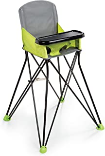 Summer Pop 'n Sit Portable Highchair, Green - Portable Highchair For Indoor/Outdoor Dining – Space Saver High Chair with F...