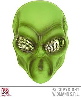 WIDMANN- Alien Máscara Extraterrestre, Multicolor, Taglia unica (WDM2689V)