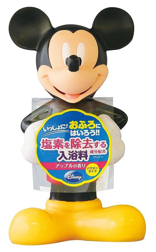 エチケット割り当て気難しいディズニー バスタイム 3D入浴料 ミッキーマウス 180g