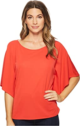 Jersey Dolman-Sleeve Top
