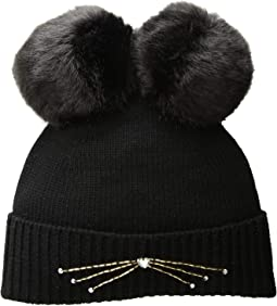 Embellished Cat Beanie
