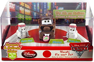 Disney / Pixar CARS 2 Movie Exclusive 148 Die Cast Car 3Pack Wasabi Screamin Hollerin Mater with 2x Sushi Chefs by Disney